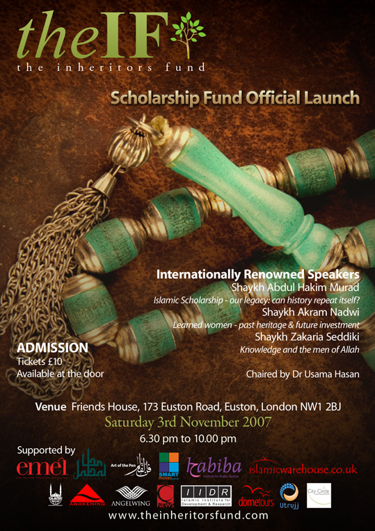 November 2007 Launch of The Inheritors Fund